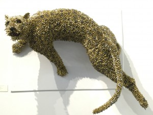 Adelson Galleries New York leopard Federico Uribe