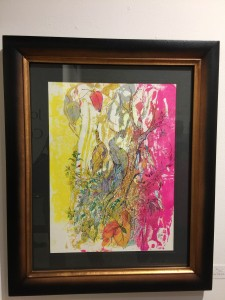 Artist Joseph Culotta  abstract art  presented by The Gallery Girls  shown at Swank Interiors Houston TX