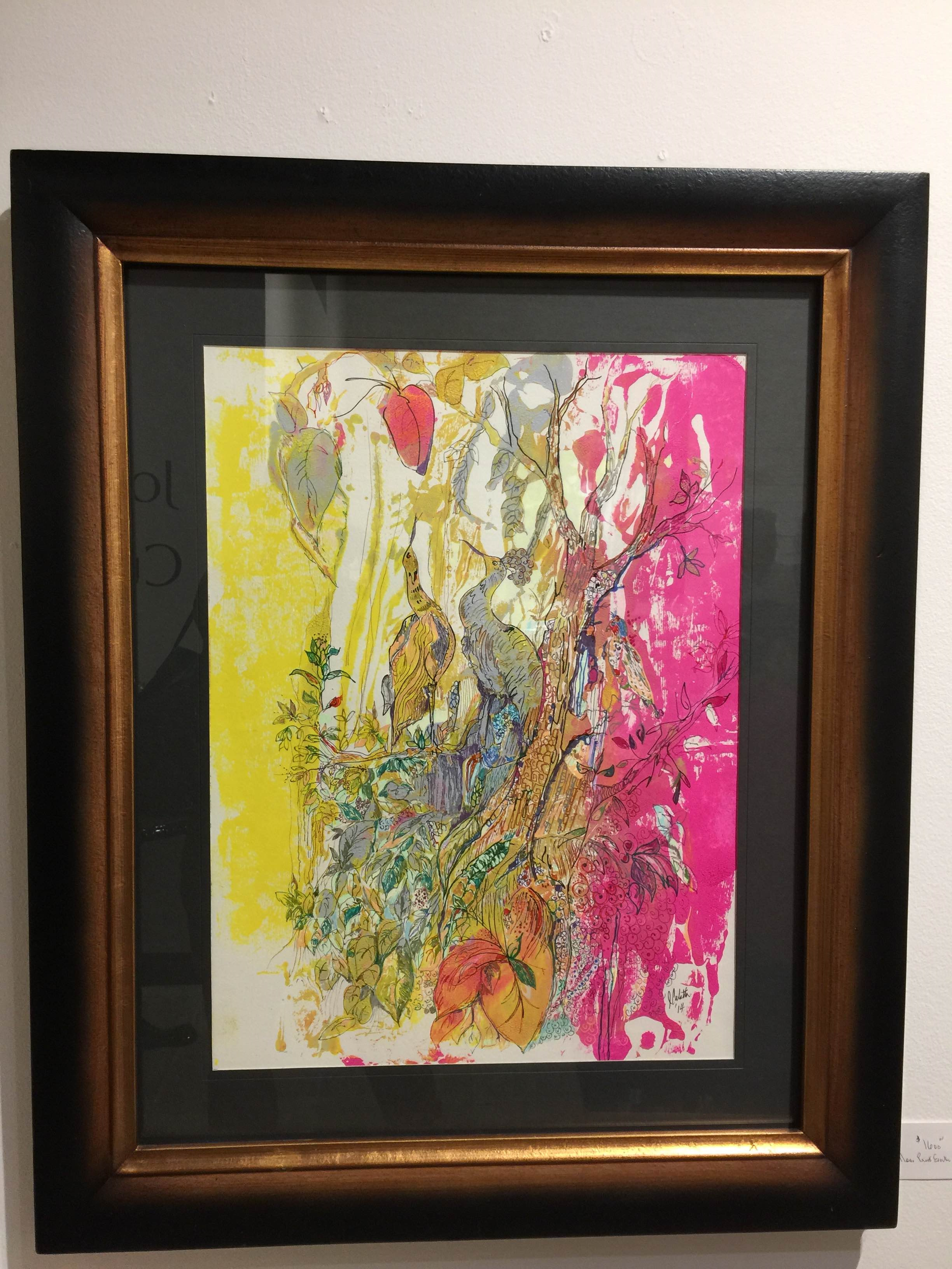 Watercolor art galleries in houston - Artist Joseph Culotta Abstract Art Presented By The Gallery Girls Shown At Swank Interiors Houston Tx