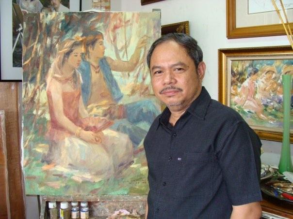, Top Ten in Philippines Artist Jun Martinez Renowned Globally for His Fine Art Masterpieces