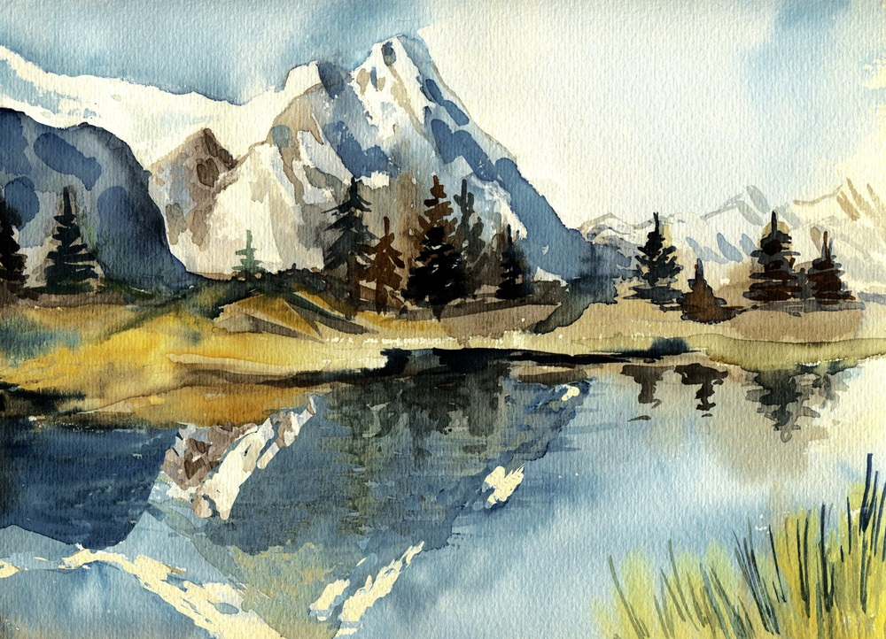 Bob rosss happy little trees a one man painting revival artist bob ross streaming video landscape painting the joy of painting bob ross voltagebd Choice Image