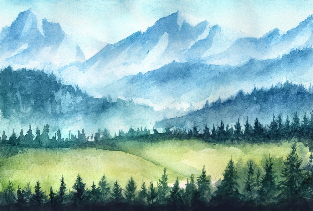 Bob Ross, streaming video, landscape painting, The Joy of Painting, Bob Ross, oil painting