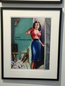 Denise Bibro Fine Art New York Harold Your Socks Don't Match artist Jerry Meyer
