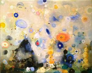A Queen Bee  Houston artist J Antonio Farfan  art, artist, fine artist, colors, acrylic, mixed media, canvas, collector, art collector, art galleries, gallery, style, genre, aficionado, work of art, website, online