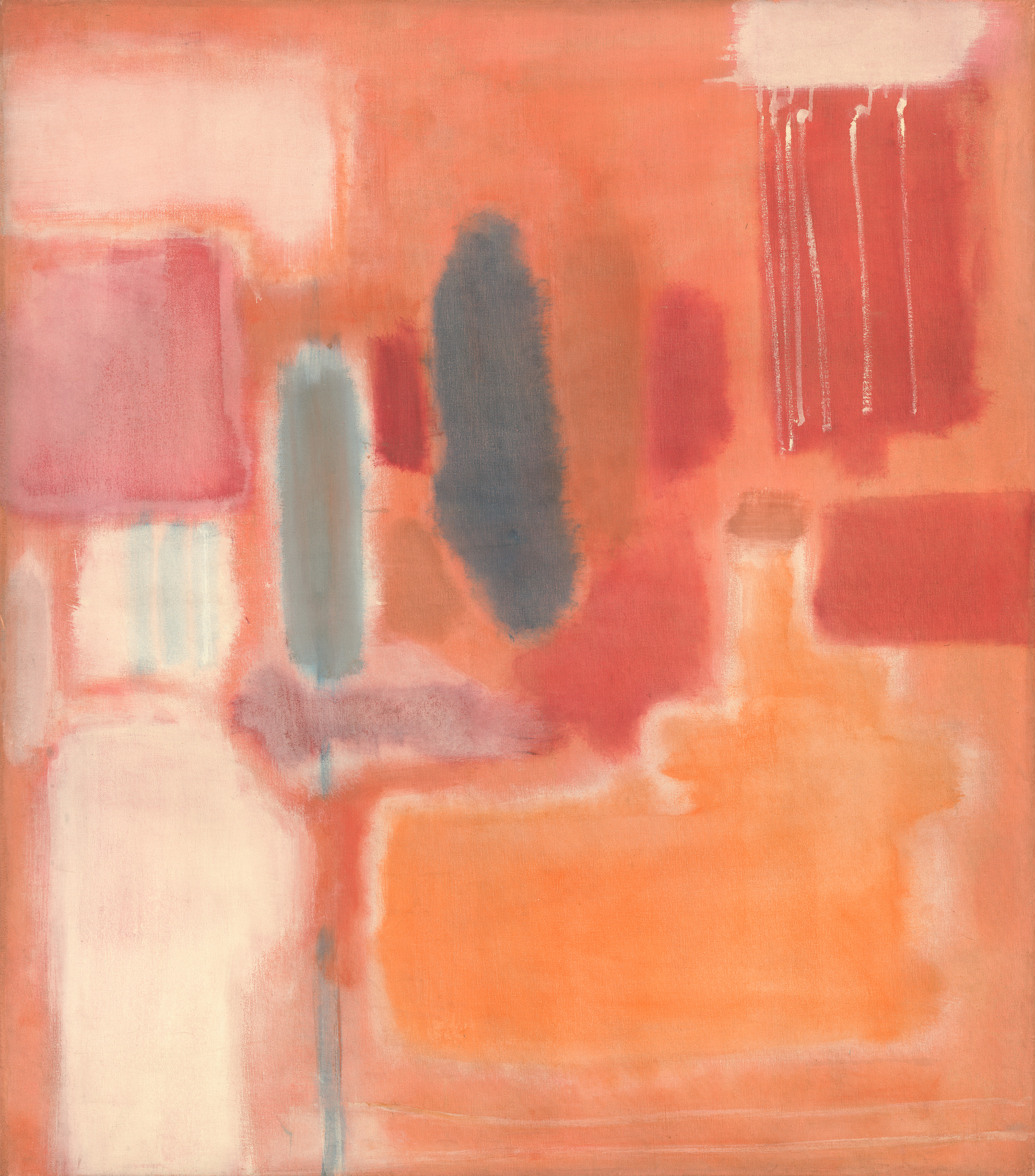 artist Mark Rothko, No. 9, 1948, oil and mixed media on canvas, National Gallery of Art, Washington, Gift of The Mark Rothko Foundation, Inc. © 1998 by Kate Rothko Prizel and Christopher Rothko courtesy Museum of Fine Arts Houston