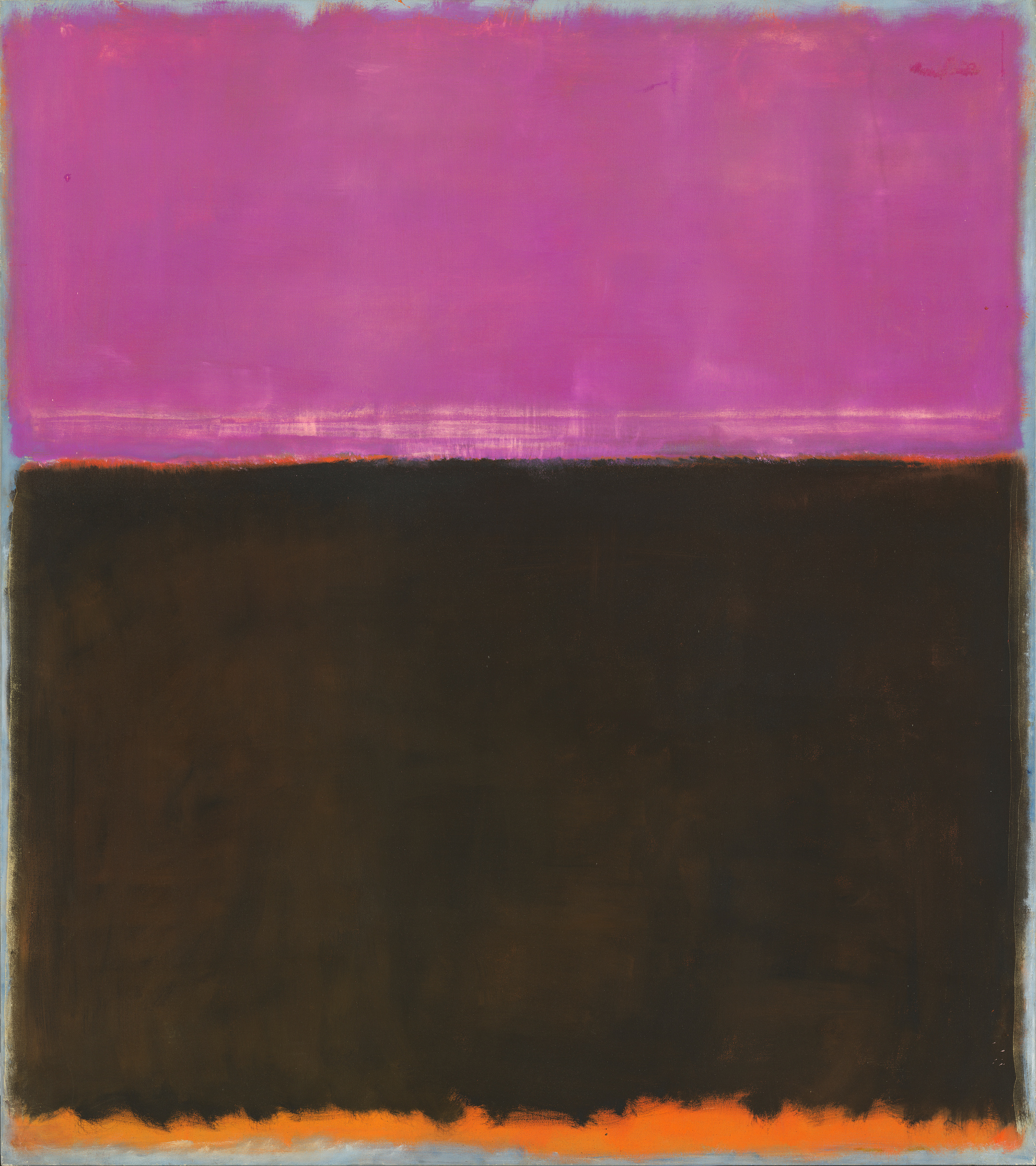 Mark Rothko, Untitled, 1953, mixed media on canvas, National Gallery of Art, Washington, Gift of The Mark Rothko Foundation, Inc. © 1998 by Kate Rothko Prizel and Christopher Rothko courtesy Museum of Fine Arts Houston