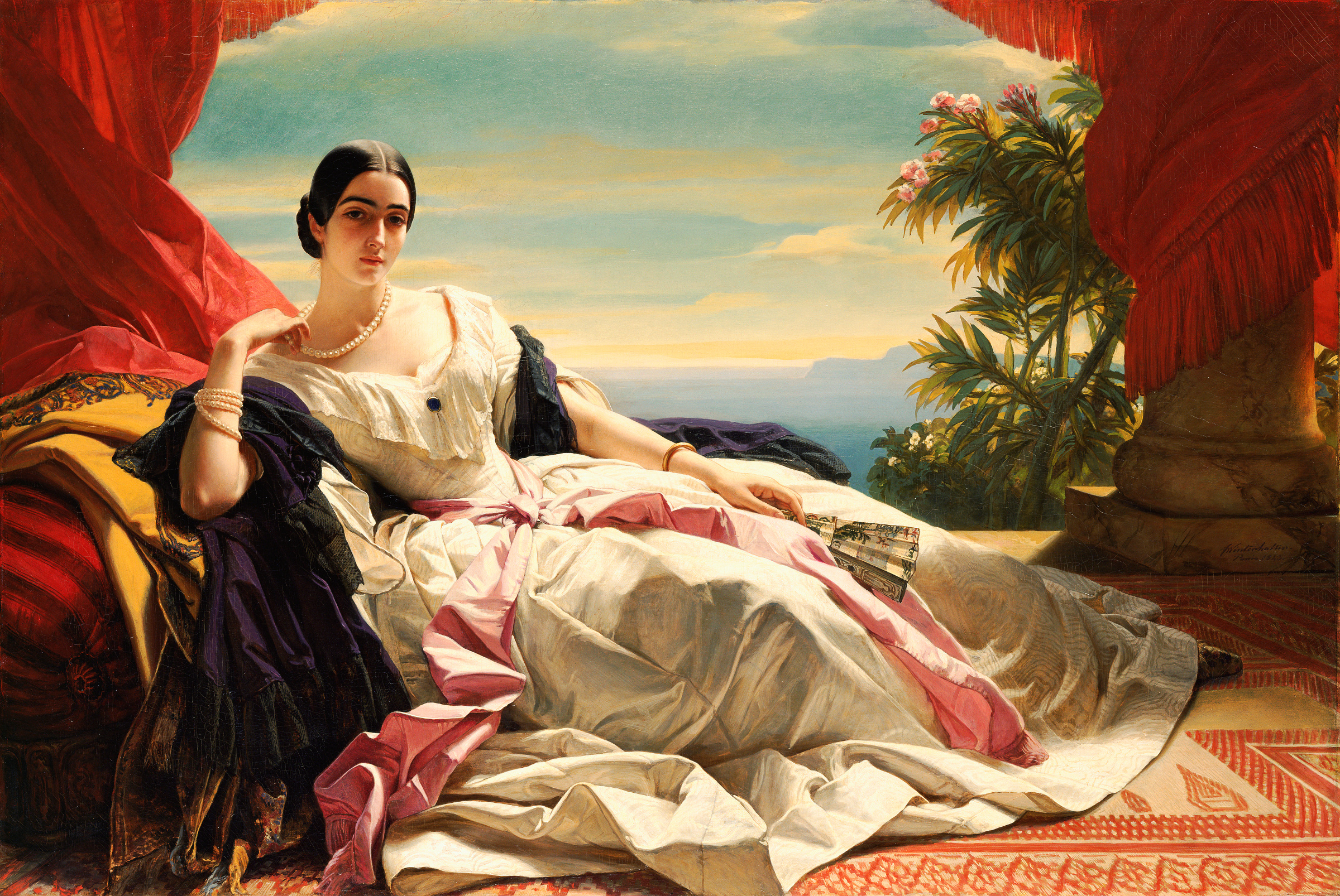 , High Society, Royalty and Aristocracy, Portraits of Franz X. Winterhalter, Commissioned by Kings and Queens of Europe in the 19th Century: Museum of Fine Arts, Houston: Very Important to See!