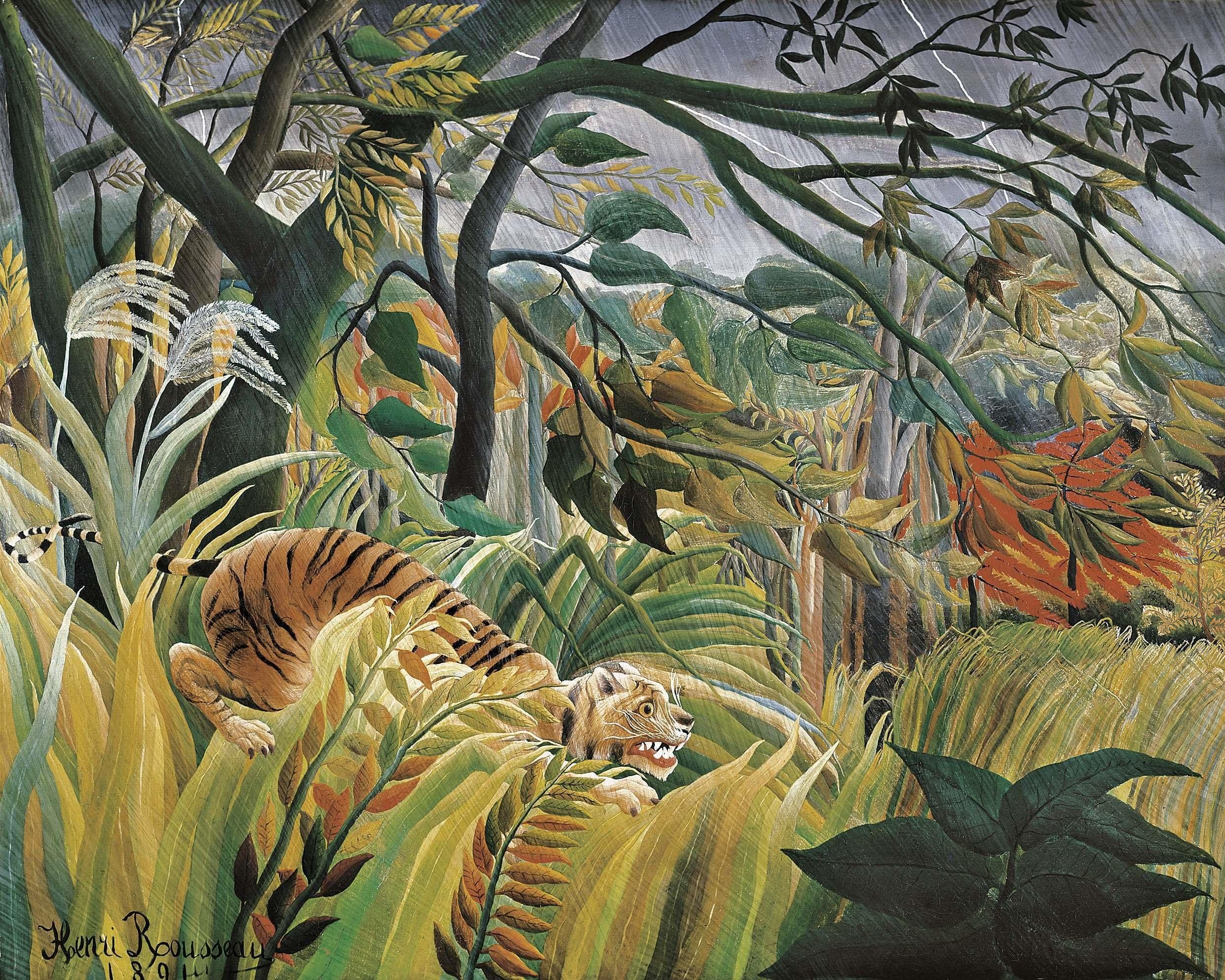 Neo-primitivism and the Hybrid Aesthetic, Paul Cezanne, Paul Gauguin, Henri Rousseau