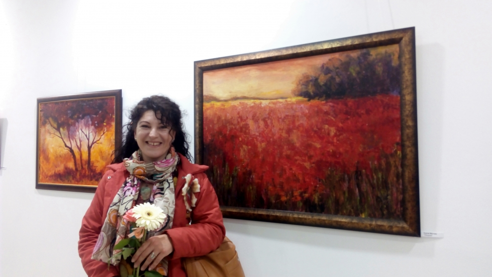 ME AT WOMEN'S DAY EXHIBITION