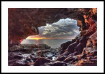 Anemone Cave at Sunrise, Photography, Fine Art, Nature, Photography: Photographic Print, By Carol P. Milazzo DiRenzo