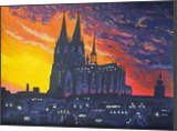 *Cologne Cathedral*(acrylic on paper), Paintings, Fine Art, Landscape, Acrylic, By Victoria Trok