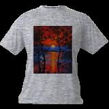 """""""Horizon bleue"""", Paintings, Impressionism, Nature, Acrylic, By GORFI GORFI"""