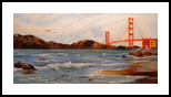 """I Left My Heart . . ."", Paintings, Fine Art,Realism, Seascape, Oil, By Colleen Lambert"