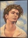 *Ivo Pogorelich*(acrylic on canvas), Paintings, Fine Art, Portrait, Acrylic, By Victoria Trok
