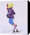 """""""Jump"""", Paintings, Realism, Children, Painting, By William Clark"""