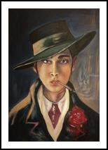 *Karlis Padegs*(acrylic on canvas), Paintings, Fine Art, Portrait, Acrylic, By Victoria Trok