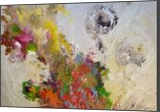 """LARGE painting """"Spring melody"""", Paintings, Abstract, Botanical,Decorative,Fantasy,Floral,Landscape,Nature, Acrylic,Canvas, By Irini Karpikioti"""