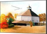 """Linvilla Barn"", Architecture, Realism, Architecture, Painting, By William Clark"