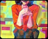 MargarHeatWave, Paintings, Pop Art, Figurative, Canvas,Oil,Wood, By Piotr Ryszard Kachny