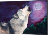 """Night Call"", Paintings, Realism, Animals, Painting, By William Clark"