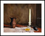 """""""Perfume and Lace"""", Paintings, Realism, Still Life, Painting, By William Clark"""