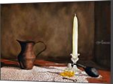 """Perfume and Lace"", Paintings, Realism, Still Life, Painting, By William Clark"