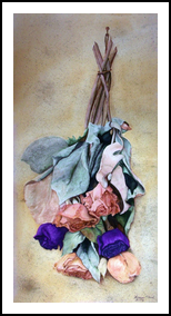 """"""" Remains of a Summer"""", Paintings, Realism, Botanical, Watercolor, By William Clark"""