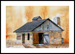 """""""Smitty at Newlin"""", Paintings, Realism, Historical, Painting, By William Clark"""