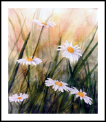 """""""Summer"""", Paintings, Realism, Botanical, Watercolor, By William Clark"""