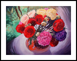 *The Flowers*(acrylic on canvas), Paintings, Fine Art, Still Life, Acrylic, By Victoria Trok