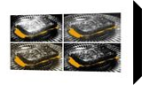 """The Grilled Cheese Sandwiches BW"", Photography, Pop Art, Analytical art, Photography: Stretched Canvas Print, By Michael C C Bertsch"