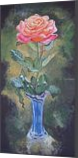 *The Rose*(acrylic on cardboard), Paintings, Fine Art, Still Life, Acrylic, By Victoria Trok