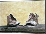 """The Storytellers, Children's Size 5, Paintings, Realism, Still Life, Watercolor, By William Clark"