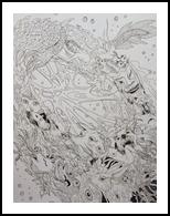 *Untitled*, Drawings / Sketch, Fine Art, Fantasy, Pencil, By Victoria Trok