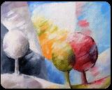 010 arbre, Paintings, Abstract,Fine Art, Figurative,Floral,Landscape, Canvas,Oil, By Beatrice BEDEUR