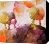 012 arbre, Paintings, Abstract,Expressionism, Architecture,Figurative,Floral, Canvas,Oil, By Beatrice BEDEUR