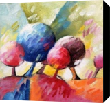 014 arbres, Paintings, Abstract, Figurative,Floral,Nature, Canvas,Oil, By Beatrice BEDEUR