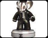 13104$ Babolex Chanel Sculpture Resin, Sculpture, Fine Art, Animals, Mixed, By vincent faudemer
