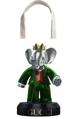 13244 $ Babolex Gucci Vert Sculpture Resin, Sculpture, Fine Art, Animals, Mixed, By vincent faudemer