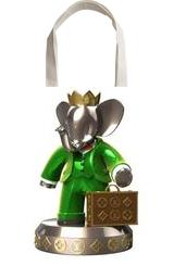 13396 $ Babolex Vuitton Sculpture Resin, Sculpture, Fine Art, Animals, Mixed, By vincent faudemer