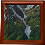 Snow Clad Mountains of Himalayas, Paintings, Realism, Landscape, Canvas, By Ajay Harit