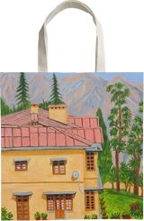 View from Gunhill Mussoorie, Paintings, Realism, Landscape, Canvas, Oil, By Ajay Harit