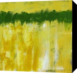 Golden Wheat, Umbria, Paintings, Abstract, Landscape, Acrylic, By Sal Panasci