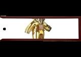 15210$ Babolex Dior Or Sculpture Resin, Sculpture, Fine Art, Animals, Mixed, By vincent faudemer