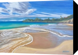 Winter at Kauna'oa Bay, Paintings, Impressionism, Landscape, Oil, By Will Bateman