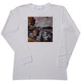 Men's Vapor Apparel Long Sleeve - White