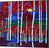 1634d67c6362c4 Red Trees Paintings by Rachel Olynuk - Artist.com