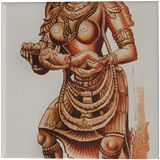 MARVEL OF STONE, Paintings, Realism, Fantasy, Canvas, By RAGUNATH VENKATRAMAN