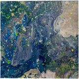 Boundless Universe, Decorative Arts, Abstract, Celestial / Space, Fantasy, Acrylic, By Smita Biswas