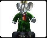 25740 $ Babolex Gucci Green Sculpture bronze, Sculpture, Fine Art, Animals, Bronze, By vincent faudemer